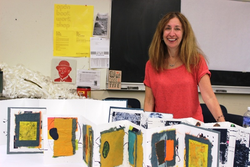 day 52: book artist laurie alpert