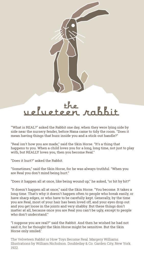 The Velveteen Rabbit illustration