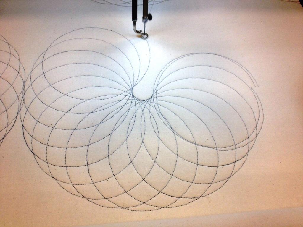 day 87: spirograph quilt, part 1