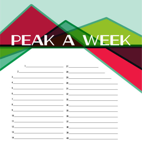 day 148: peak a week posters