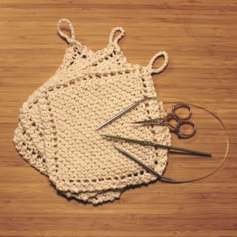 day 151: knitting 101