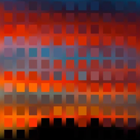 day 230: sunset mosaics