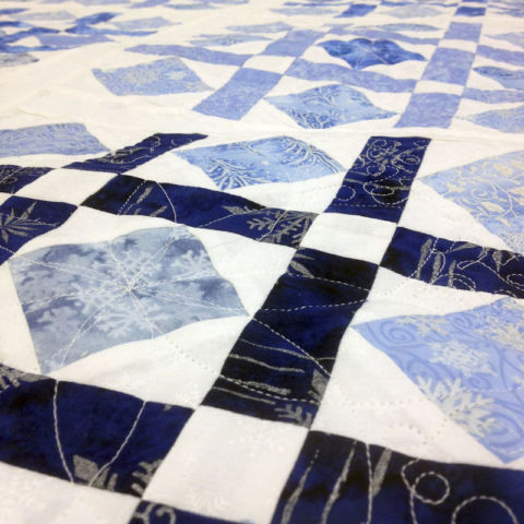 day 271: special snowflake quilt