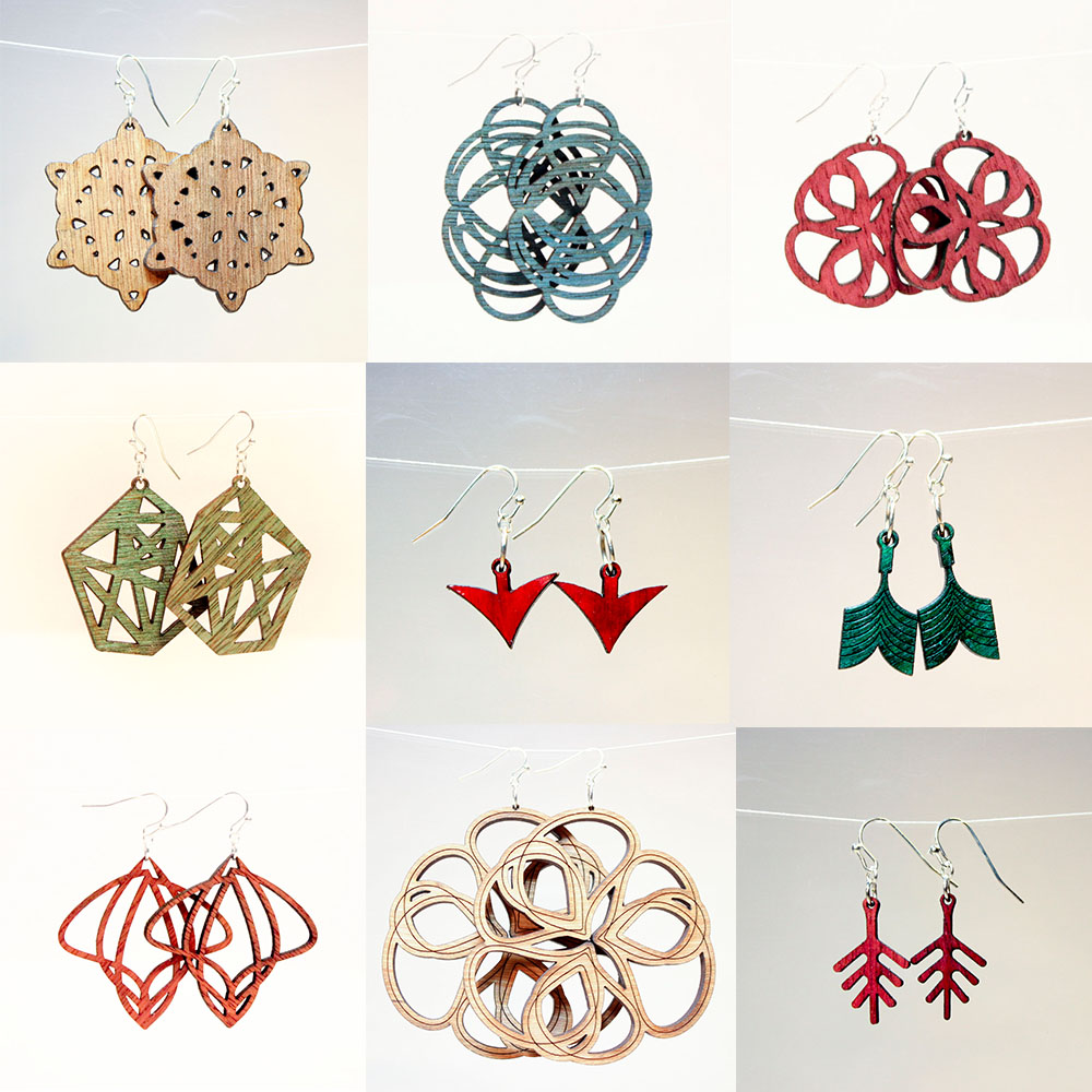 earring montage