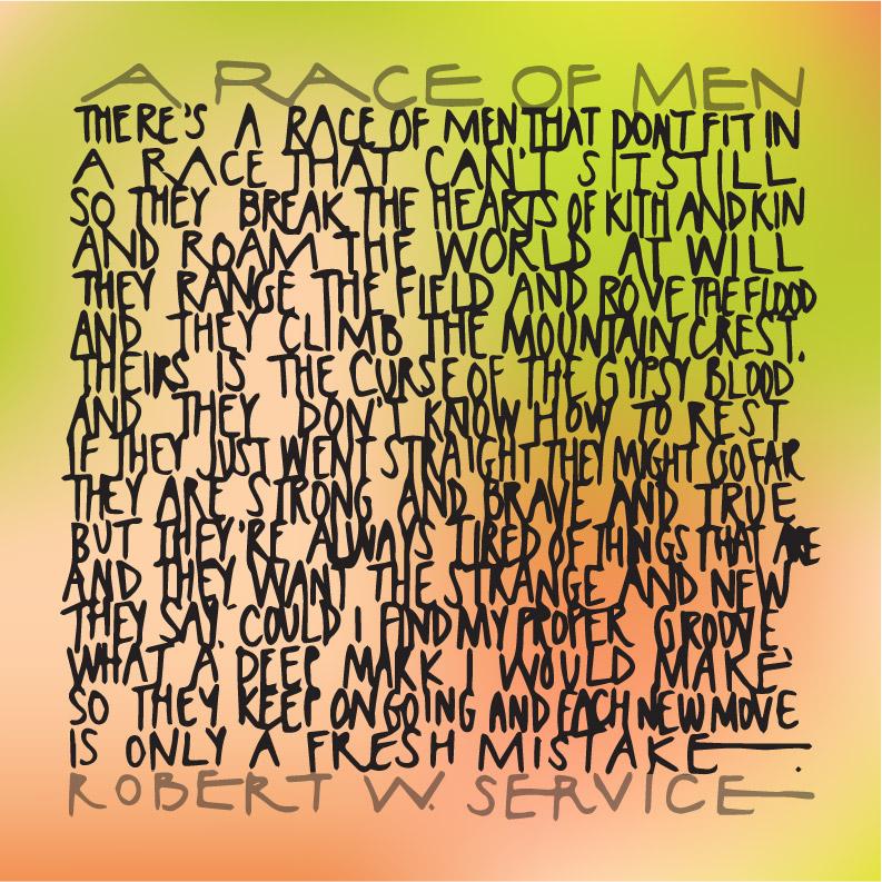 robert service race of men poem (3)