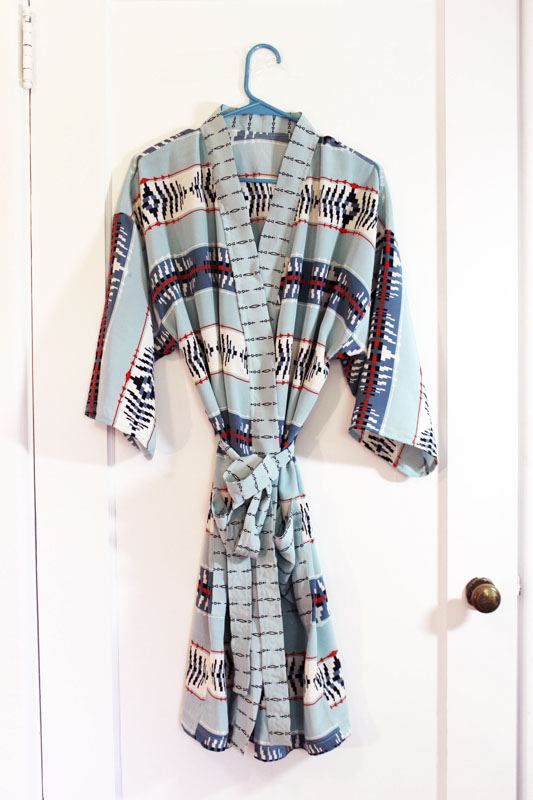 pendleton silk robe 1