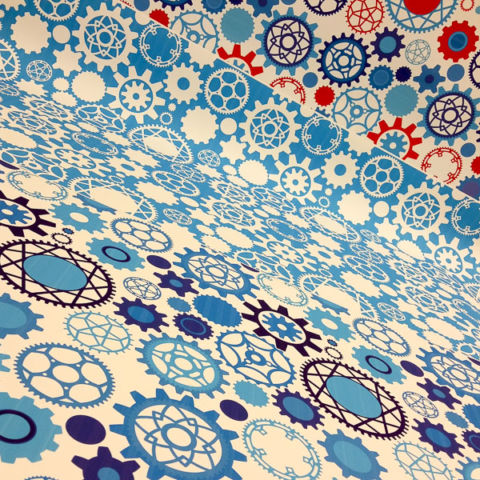 day 361: techshop wallpaper irl