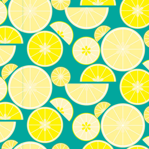 day 312: citrus fruit patterns