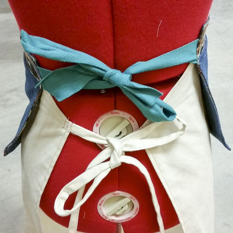 scrap fabric apron_2