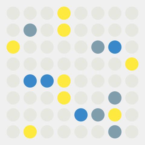 day 339: yayoi kusama inspired dots