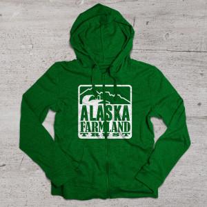 aftc hoodie mockup green