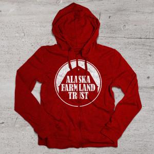 aftc hoodie mockup red 2