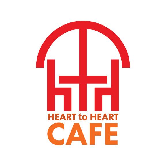 heart to heart cafe logo design-01
