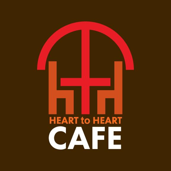 heart to heart cafe logo design-02