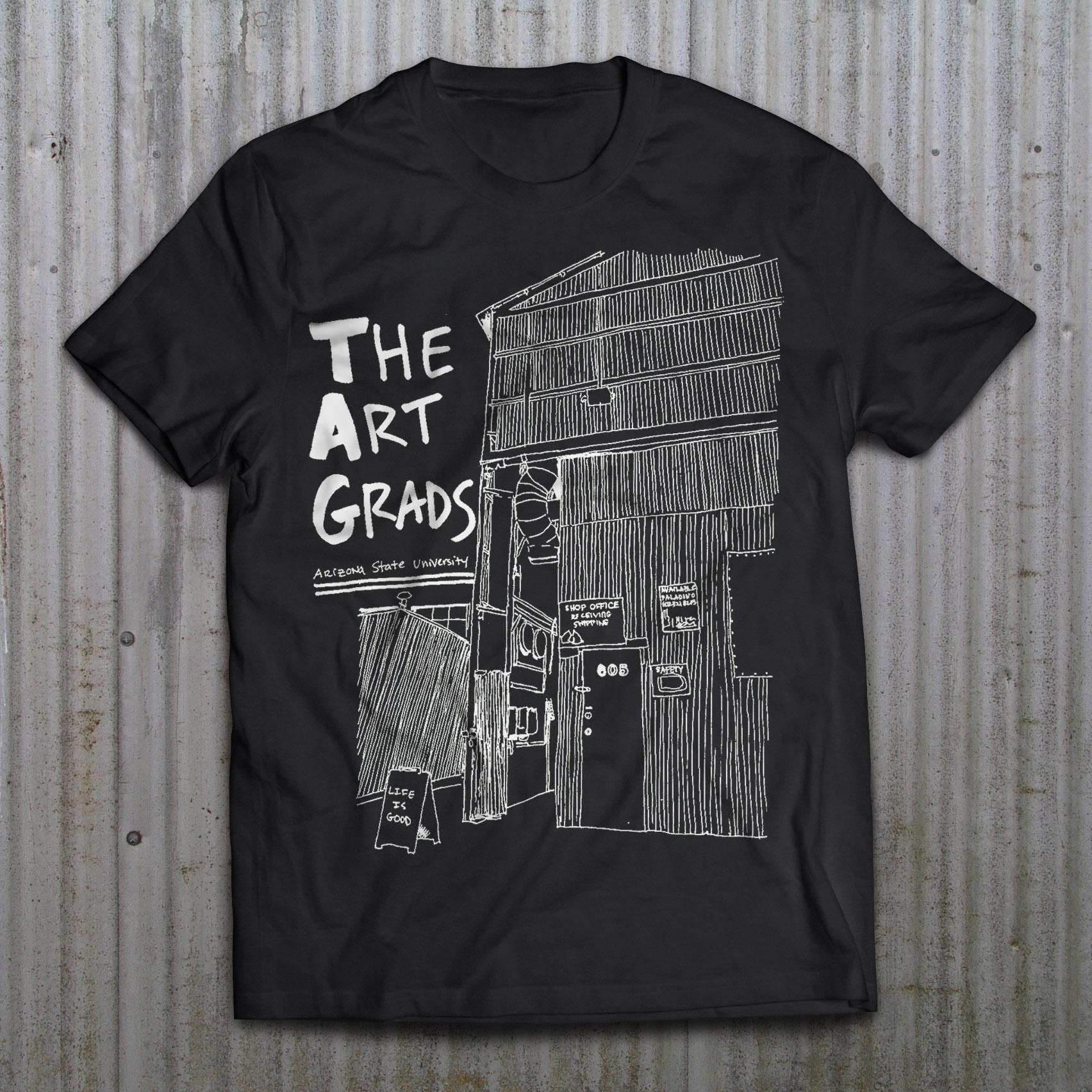 The Art Grads t-shirt design by Kate Horvat