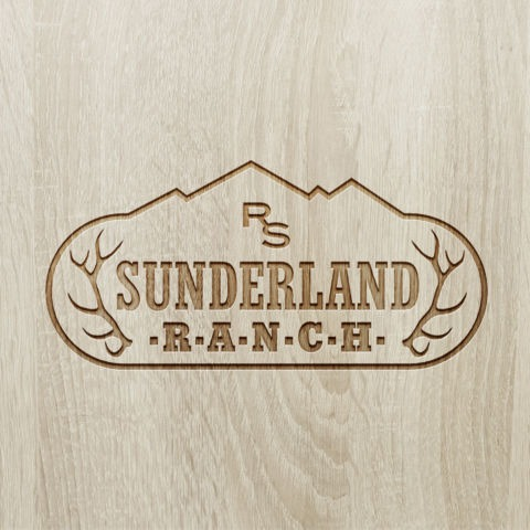 Sunderland Ranch identity design