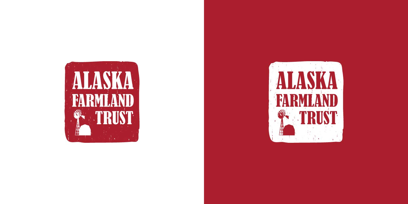 Alaska Farmland Trust logo design