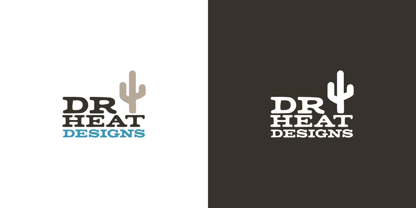 Dry Heat Designs logo design