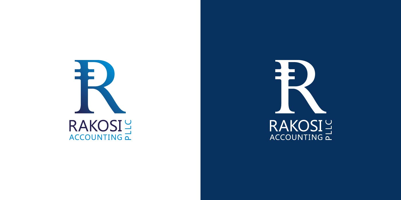Rakosi Accounting logo design