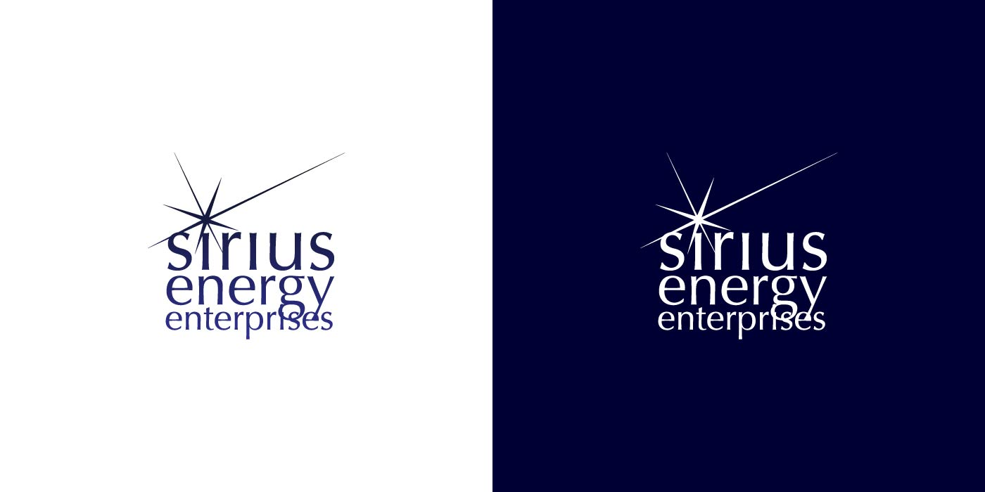 Sirius Energy Enterprises logo design