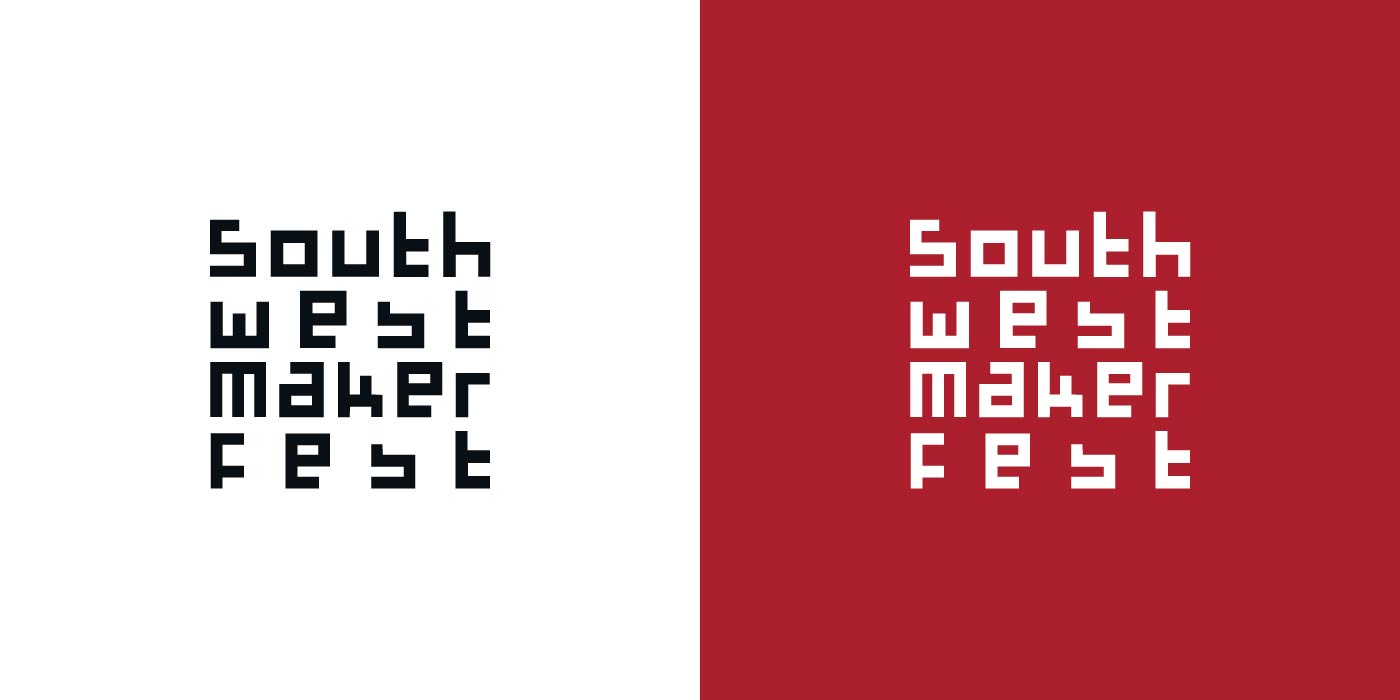 Southwest Maker Fest logo design