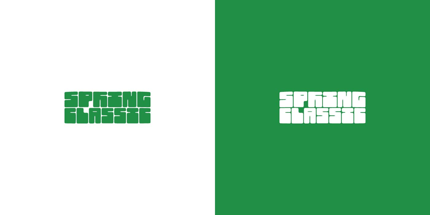 Spring Classic logo design