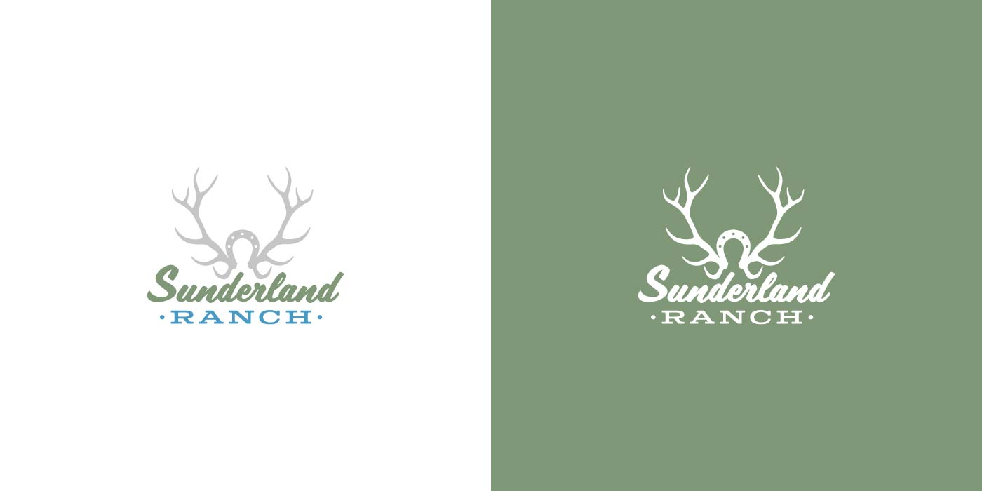 Sunderland Ranch logo design