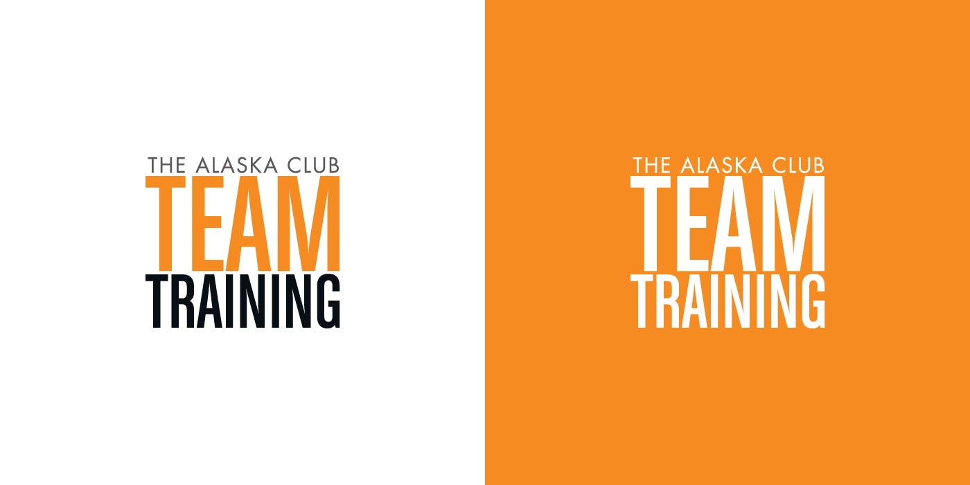 The Alaska Club Team Training logo design