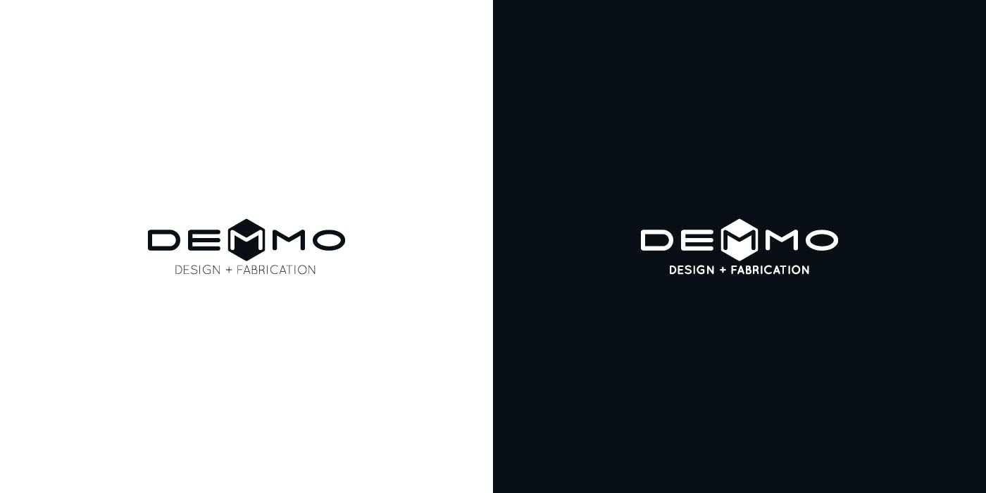 Demmo Design & Fabrication logo design
