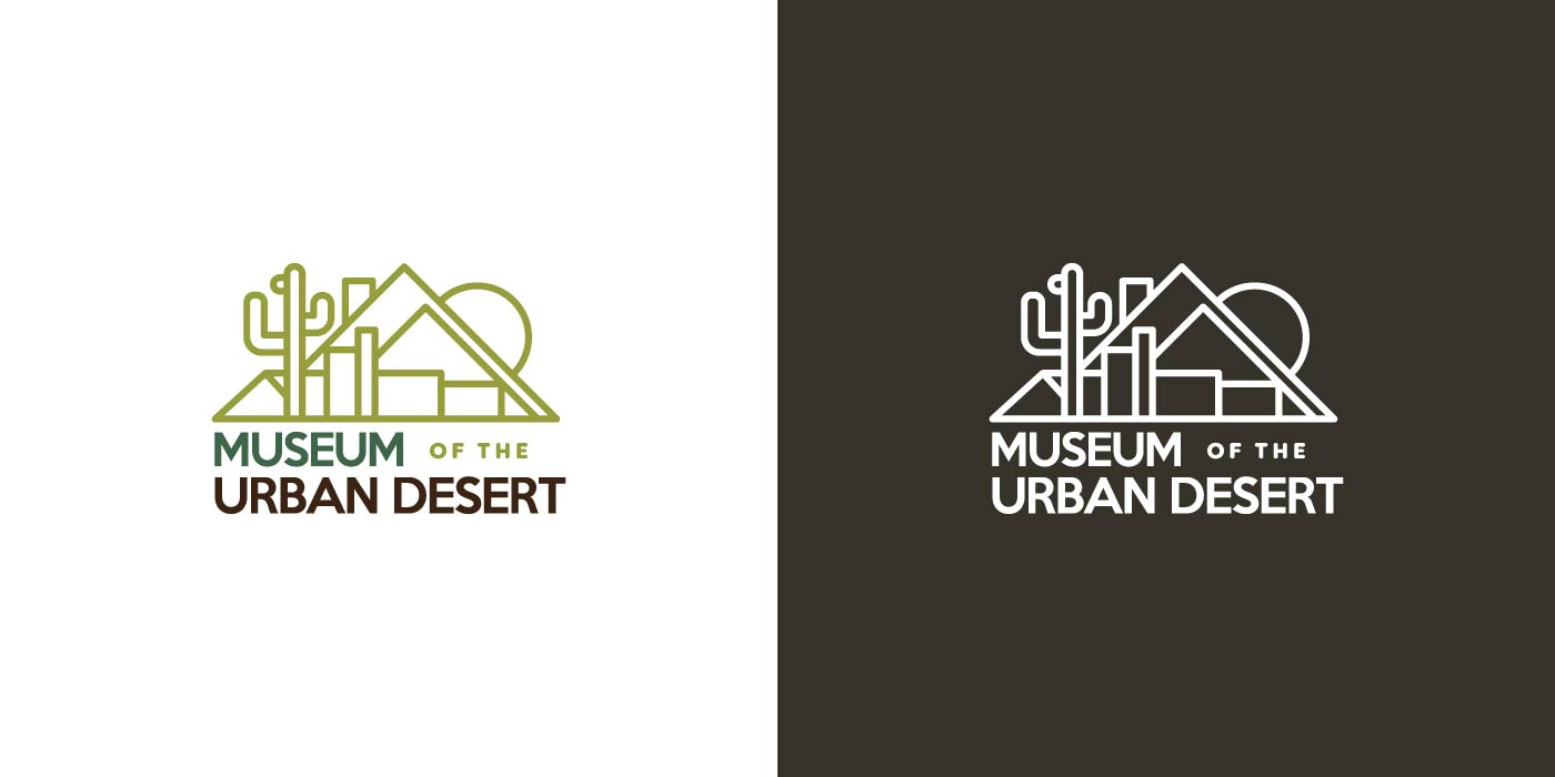 Museum of the Urban Desert logo design