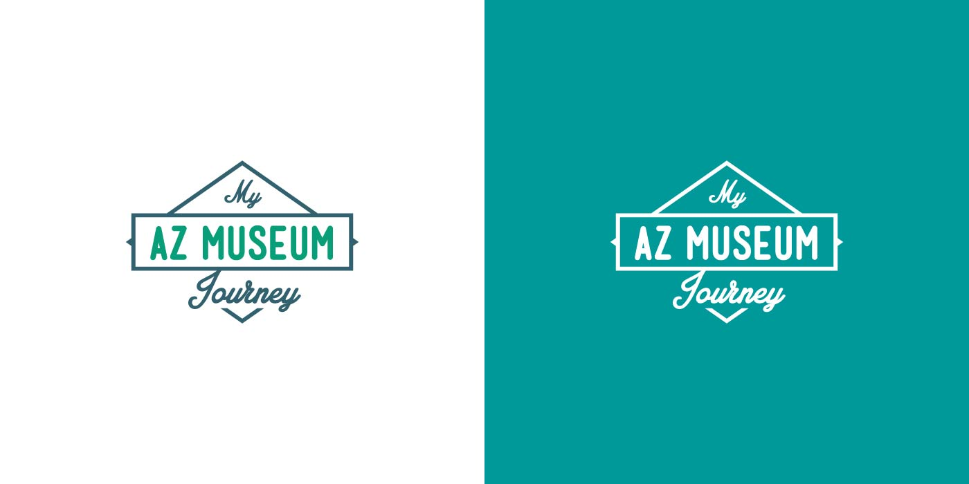 My AZ Museum Journey logo design