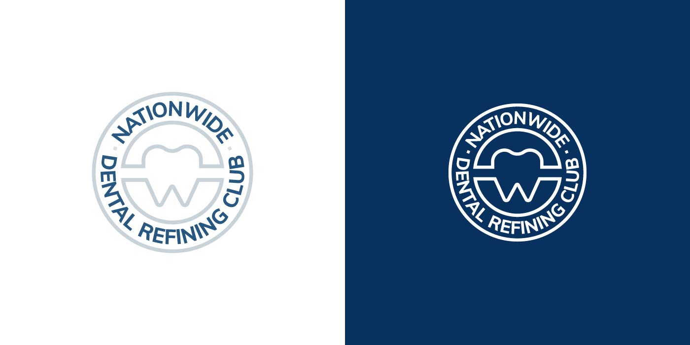 Nationwide Dental Refining Club logo design