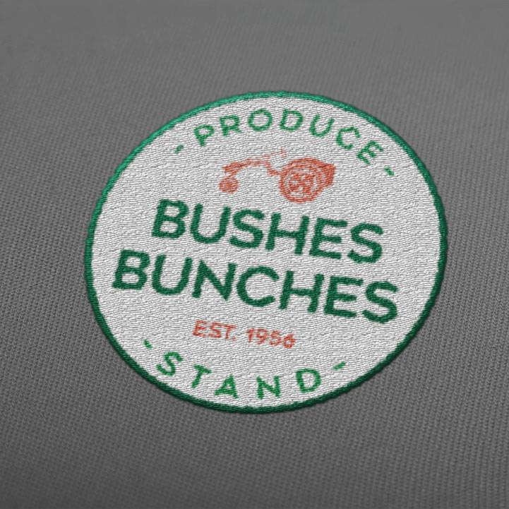 Bushes Bunches Produce Stand
