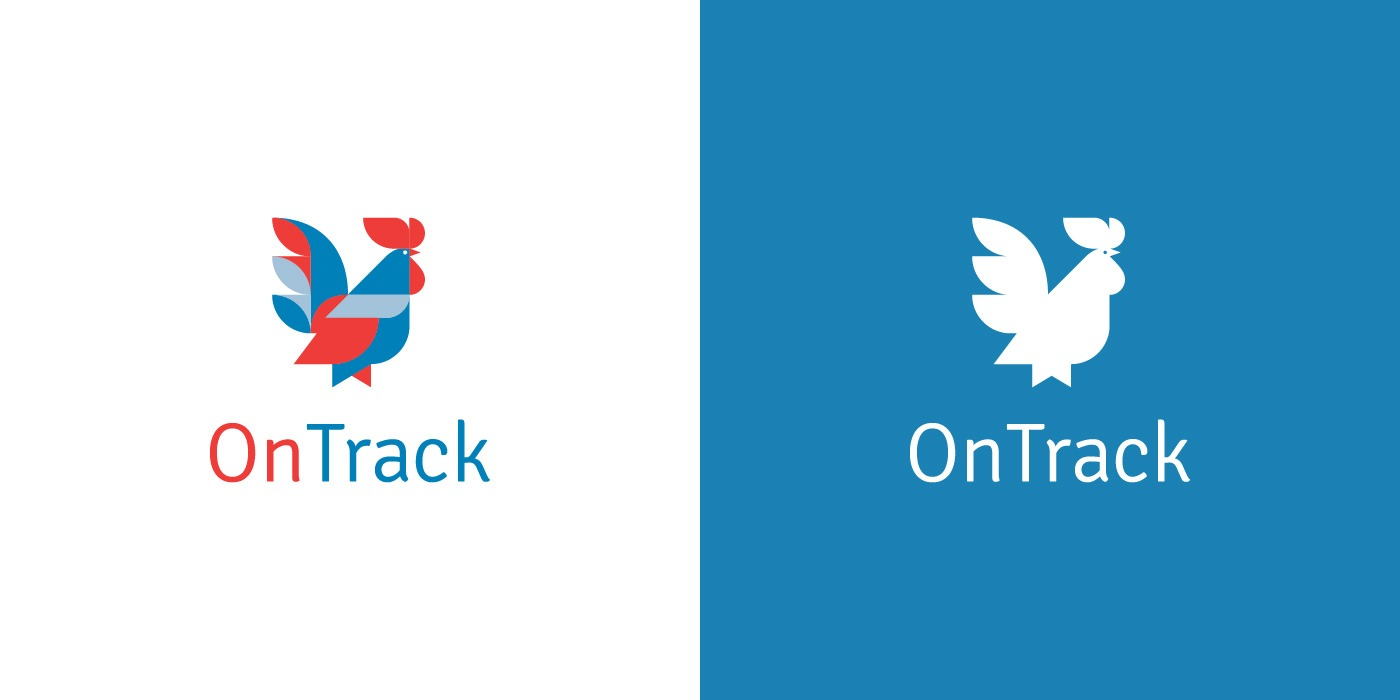 OnTrack Accounting and Business Services logo design