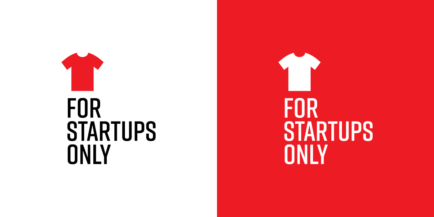 For Startups Only logo design