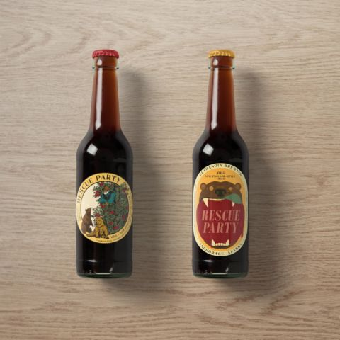 Bearanoia Brewing Cider Labels